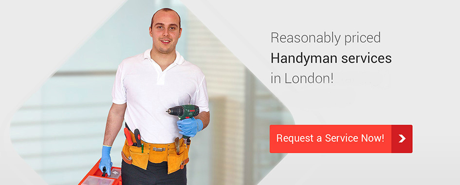 Reasonably priced Handyman services in London from £61/h