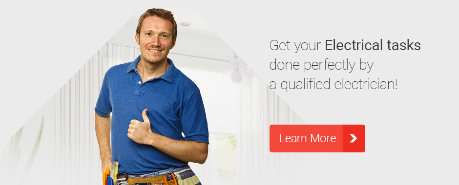 Get your Electrical tasks done perfectry by a certified electrician